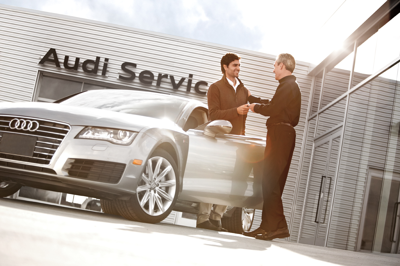 Complimentary Audi Roadside Assistance