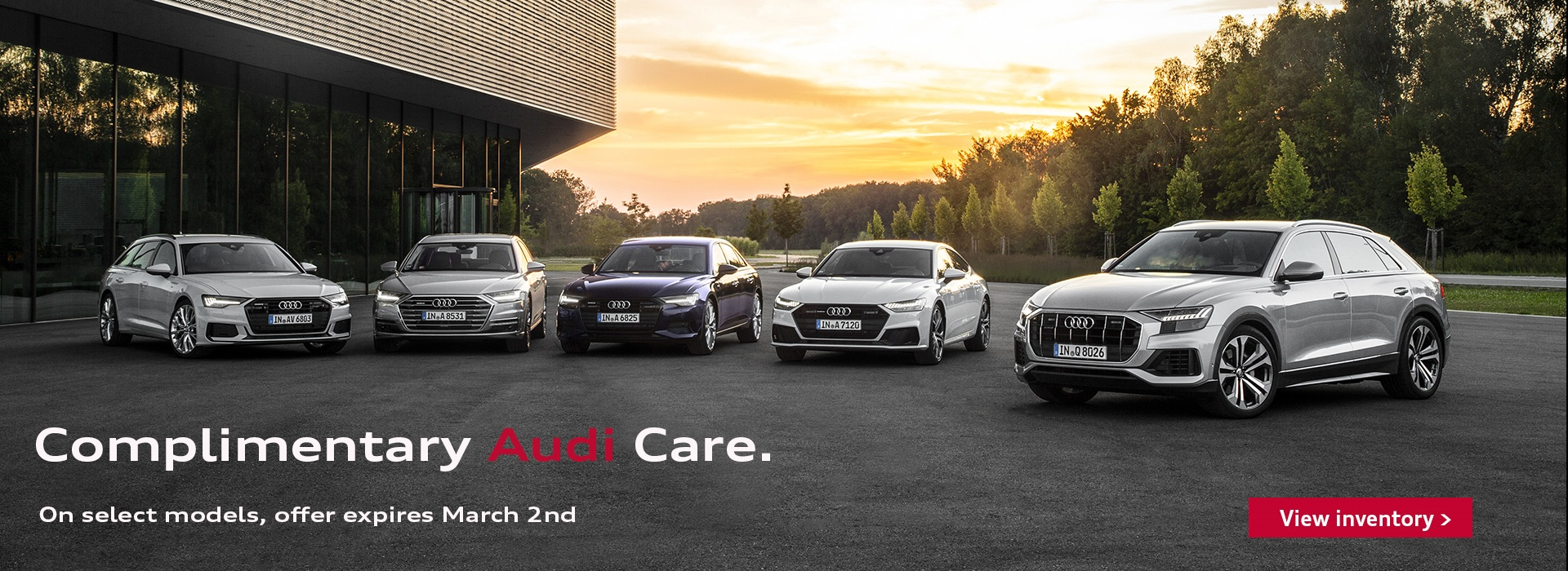Complimentary Audi Care